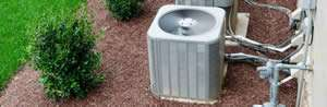 AC condenser unit free of debris - Sunset Air and Home Services – Fort-Myers - 300 x 98