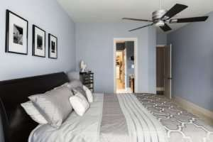 Ceiling fan in bedroom--7 ways to extend the life of your AC part 2 of 2-Sunset Air and Home Services–Fort Myers-300x200jpg