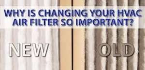 Clean air filter vs dirty air filter –Sunset Air and Home Services–Fort Myers-300x145jpg