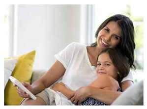 Mom and Daughter Enjoy Daikin Variable Speed AC Units - Sunset Air and Home Services - Ft Myers FL - 299 x 222