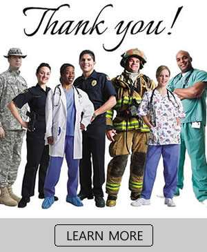 Thank You First Responders and Healthcare Workers - Sunset Air and Home Services - Fort Myers Florida
