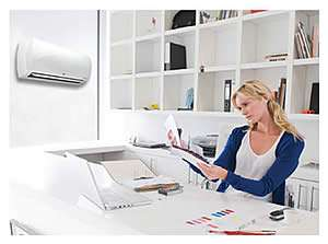 The Daikin LV AC Unit In The Craft Room Is Easy To Program - Sunset Air and Home Services - Fort Myers