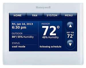 Honeywell Prestige IAQ Thermostats - Sunset Air and Home Services - Fort Myers