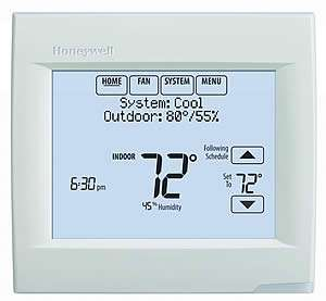 Honeywell VisionPro 8000 WiFi Thermostat - Sunset Air and Home Services - Fort Myers Florida