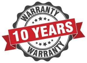 Warranty 10 year-Sunset Air and Home Services-Fort Myers-300x220jpg