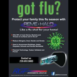 Got Flu With Reme Halo As The Solution With Benefits - Sunset Air and Home Services - Fort Myers