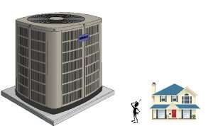 giant hvac small house-Sunset Air and Home Services-Fort Myers-300X178jpg
