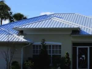Metal roof on a Florida home-the size of your Florida HVAC matters (Part 2)-Sunset Air Home and Home Services-Fort Myers-300x225