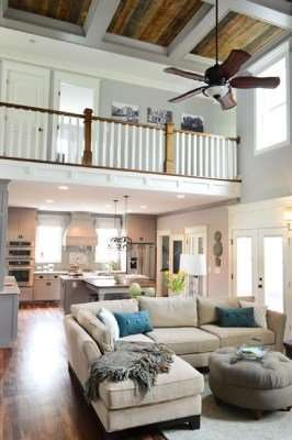 Open floor plan home with high ceilings-the size of your Florida HVAC matters (Part 1)-Sunset Air Home and Home Services-Fort Myers-266x400