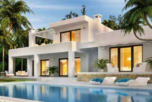 Back of home with lots of windows and pool- Sunset Air Home and Home Services-Fort Myers-300x203