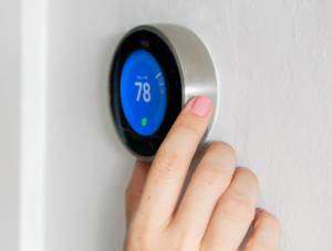 Smart Thermostat-Sunset Air and Home Services-7 Ways to Save Money This Summer-Fort Myers-300x227