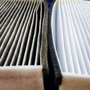 Clean and dirty air filter comparison-Is Regular AC Maintenance Needed-Sunset Air and Home Services-Fort Myers-300x300