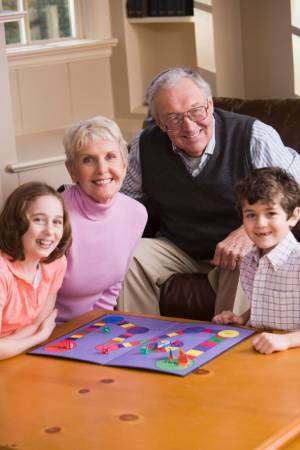 Grandparents playing games with kids-Is Regular AC Maintenance Needed-Sunset Air and Home Services-Fort Myers-300x450